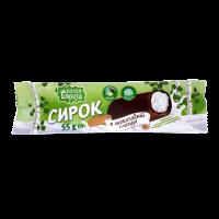 Сирок Белая Бяроза в шоколадній глазурі 55г х64
