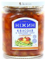 Квасоля Ніжин у томатному соусі з овочами 450г