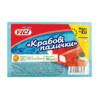 Палички крабові Vici заморожені 100г х30