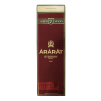Коньяк АрАрАт отборный 7р. 40% 0,7л (короб.) х6