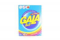 Пральний порошок для кольорових тканин Gala 3в1 Яскраві кольори Автомат, 400 г