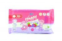 Серветки Happy дитячі полуниця й чорниця 30шт х6