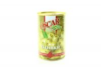 Оливки Oscar зелені з перцем пирі-пирі 300г х20
