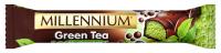 Шоколад Millennium Green Tea пористий чорний 32г