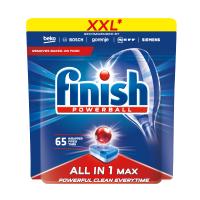 Таблетки для посудомийних машин Finish All in 1, 65 шт.