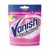 Плямовивідник порошкоподібний для кольорових тканин Vanish Oxi Action, 300 г