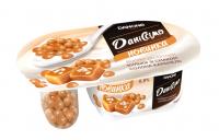 Йогурт Danone Даніссімо десертний з кульками солона карамель 6,8% 99г