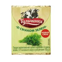 Продукт молоковм. сирний плавл. Тульчинка 55% зелень 90г