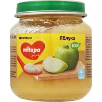 Пюре Milupa фруктове яблуко 125г х6