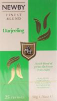 Чай Newby Darjeeling чорний 25пак.*2г