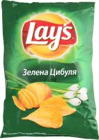 Чіпси Lays Зелена цибуля 133г