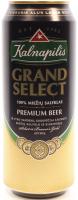 Пиво Kalnapilis Grand Select світле 0,5л з/б х6