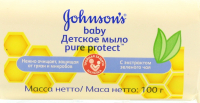 Мило Johnon`s baby Pure Protect Зелений чай 100г
