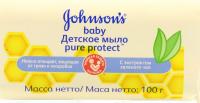 Мило Johnon`s baby Pure Protect Зелений чай 100г