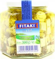 Сир Fetaki in Oil  Бринза із травами 40% 300г