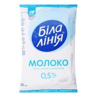 Молоко Біла Лінія 0,5% TF 900г