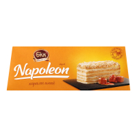 Торт БКК Napoleon карамельний 0,70кг