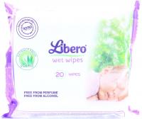 Серветки Libero вологі 20шт