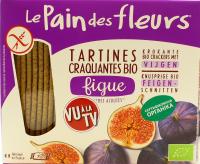 Хлібці Le Pain des Fleurs органічні з інжиру безглют 150г