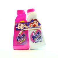 Плямовивідник Vanish Oxi Action 450мл+Vanish White 450мл х6