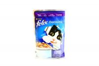 Корм Felix Fantastic з ягням шматоч.у желе д/котів 100г х20