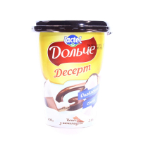Десерт Lactel Дольче кокос з шоколадом 3,4% 400г х12