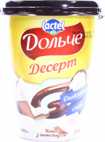 Десерт Lactel Дольче Кокос з шоколадом 3,4% 400г х6