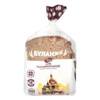 Хліб Хліб Житомира Буланже Гетьманський нарізаний 390г