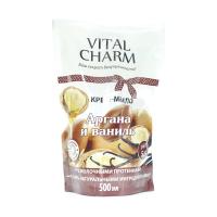 Крем-мило рідке Vital Charm Аргана і ваніль, 500 мл (дой-пак)