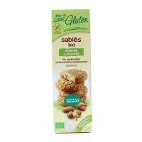 Печиво органічне Afdiag пісочне З мигдалем 150г