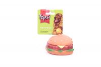Іграшка Topsi для собак Гамбургер надкуш. вініл арт.1241 х6