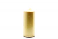 Свічка Bispol циліндр 100/50 золота