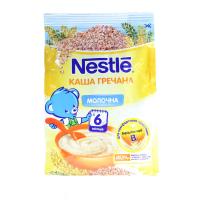 Каша Nestle гречана молочна 6м+ 180г х8