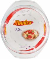 Каструля Martex для СВЧ 2л арт.32-121-005