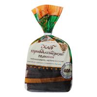 Хліб Київхліб Прибалтійський темний половинка наріз 0,400кг в уп