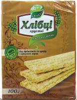 Хлібці Galleti Пшенично-гречані б/дріжджів та цукру 100г