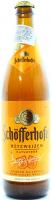 Пиво Schofferhofer Hefeweizen пшеничне світле нефільтр. 0,5л