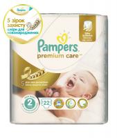 Підгузники Pampers Premium Care 3-6кг 22шт.