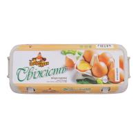 Яйця курячі Від доброї курки Свіжість 10шт.