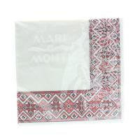 Серветки Silken Decor паперові 3-х шарові 20шт х10