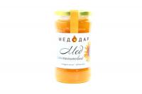 Мед Медодар Соняшниковий натуральний квітковий 400г х6