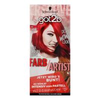 Фарба тонуюча для волосся Schwarzkopf got2b Farb/Artist №092 Lollipop Rot