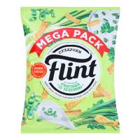 Сухарики Flint смак сметани із зеленню 110г