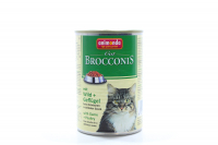Корм Brocconis птиця та дичина для котів 400г х6.