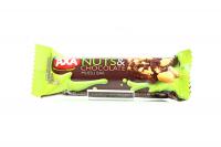 Батончик Axa зерновий з мол.шоколадом та горіхами 25г х24
