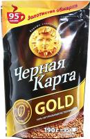 Кава Чорна Карта Gold розчинна 190г