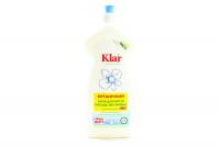 Засіб Klar для миття посуду органічний без запаху 500мл х12