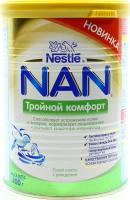 Суміш Nestle NAN Потрійний комфорт суха молочна 400г х12