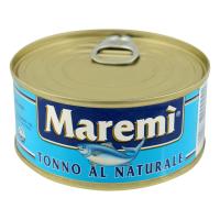 Тунець Maremi у власному соку ж/б ключ 160г