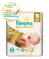 Підгузники Pampers Premium Care Mini 3-6кг 80шт.